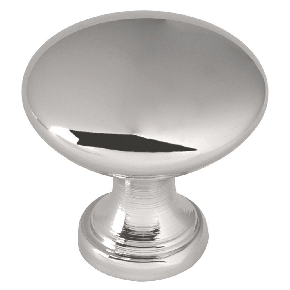 Liberty Classic Round 1-1/4 in. (32mm) Polished Chrome Hollow Cabinet Knob