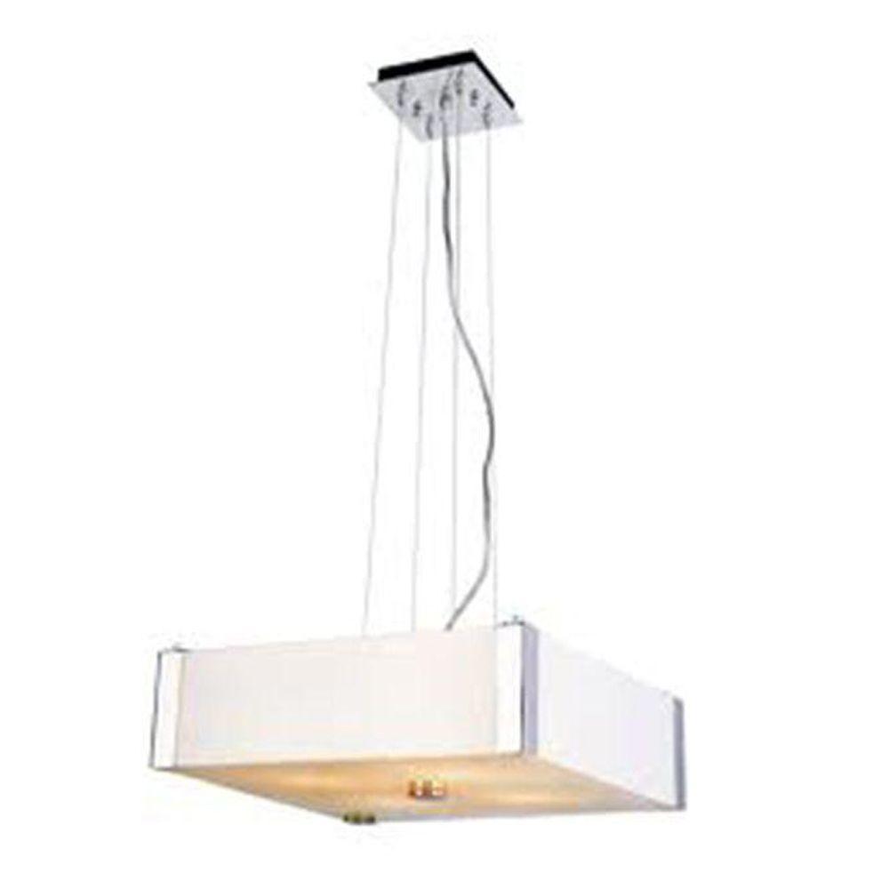 Stewart 5-Light Polished Chrome Incandescent Ceiling Pendant