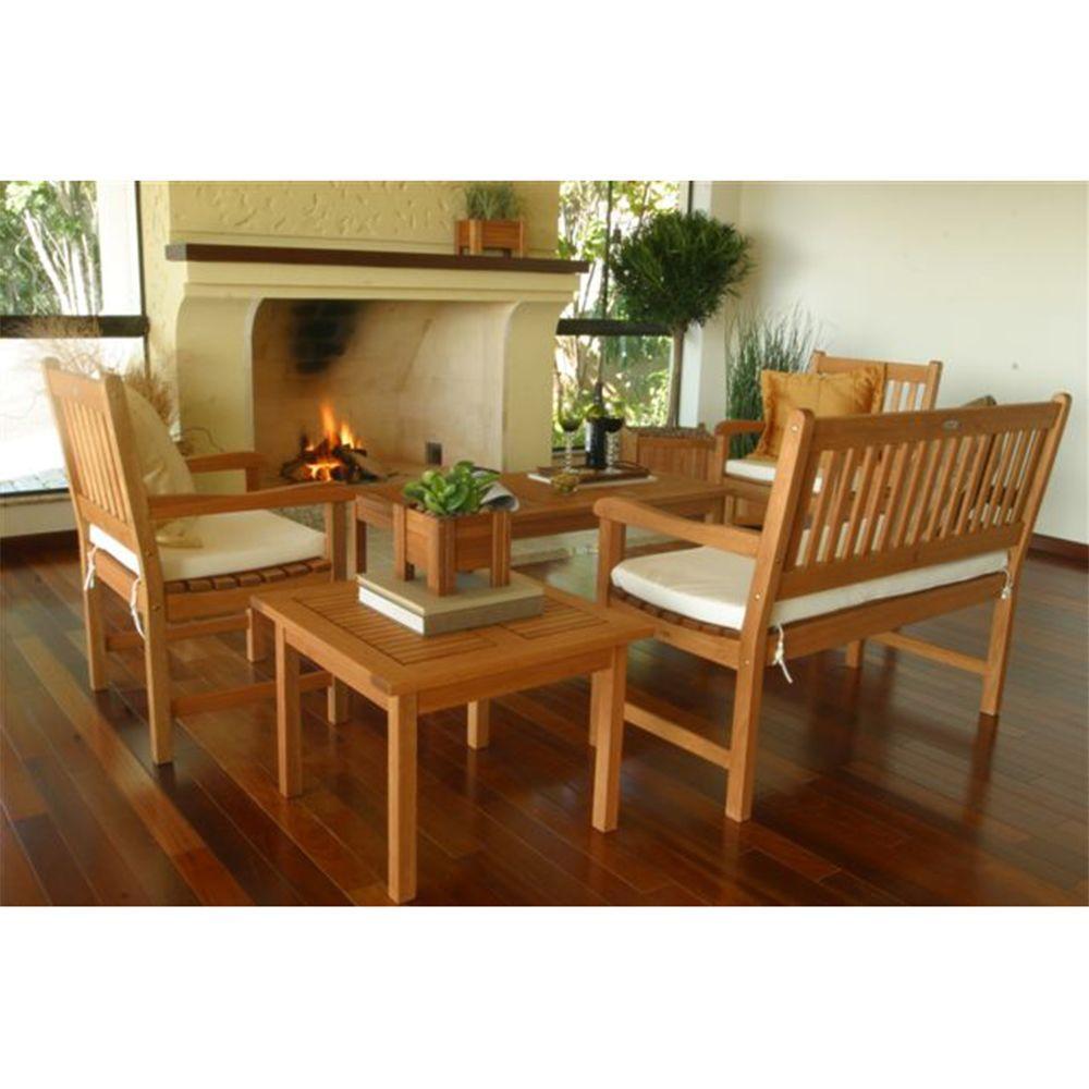 Amazonia Milano 5-Piece Patio Seating Set