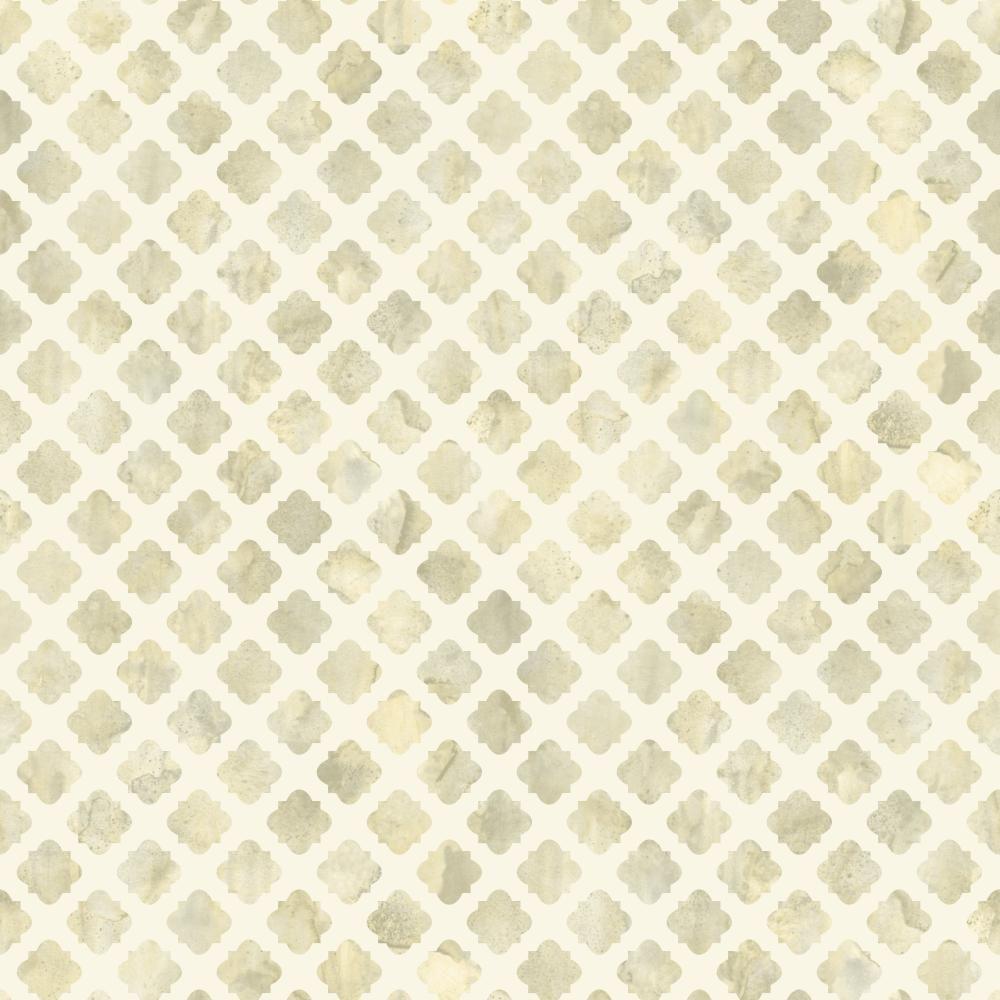 York Wallcoverings Watercolors Artisan Tile Wallpaper