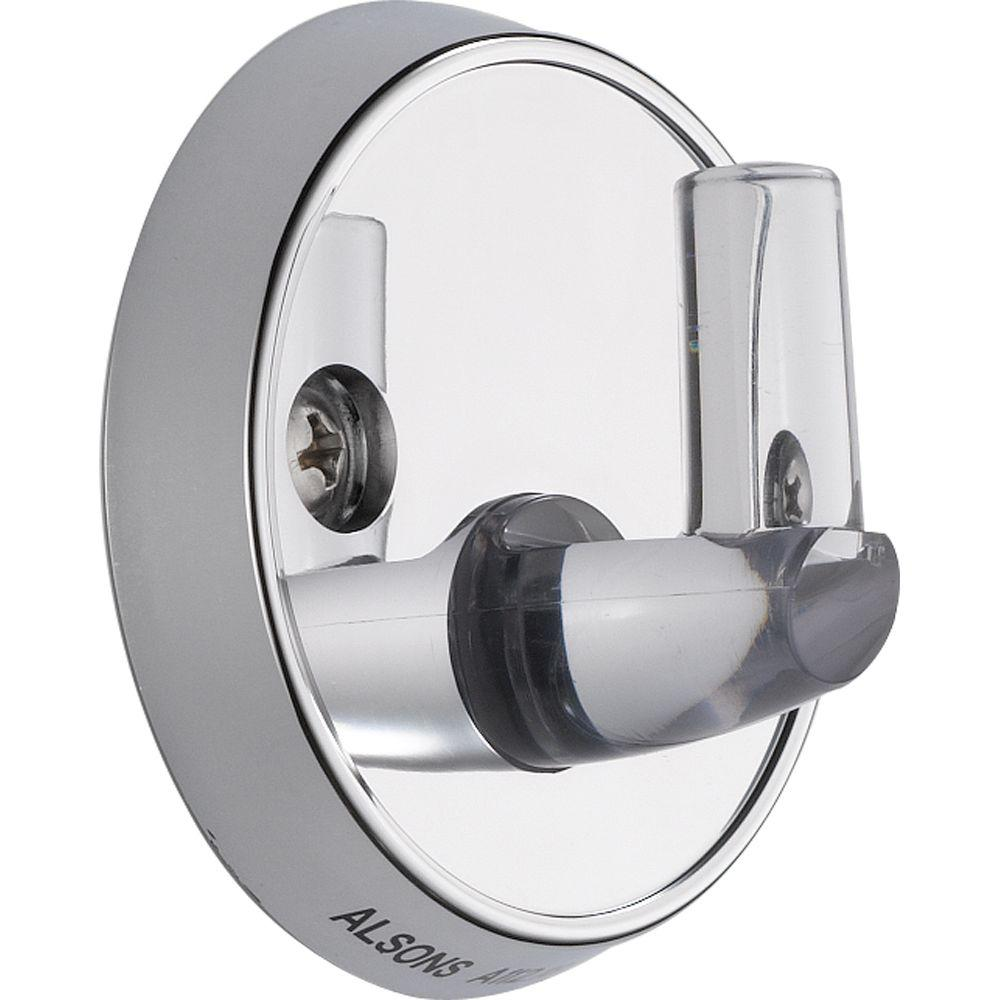 Delta Pin Wall-Mount for Hand Shower in Chrome-U5001-PK - The Home Depot