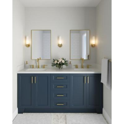 Taylor 72 in. W Vanity Cabinet Only in Midnight Blue