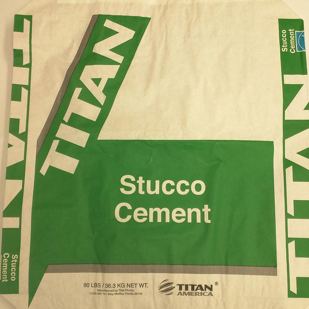 80 lbs. Titan Stucco Cement