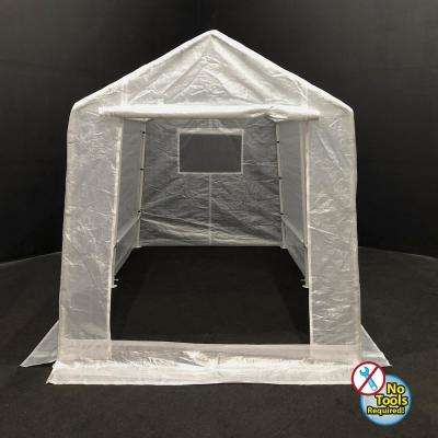 7 ft. x 12 ft. Clear Cover Greenhouse