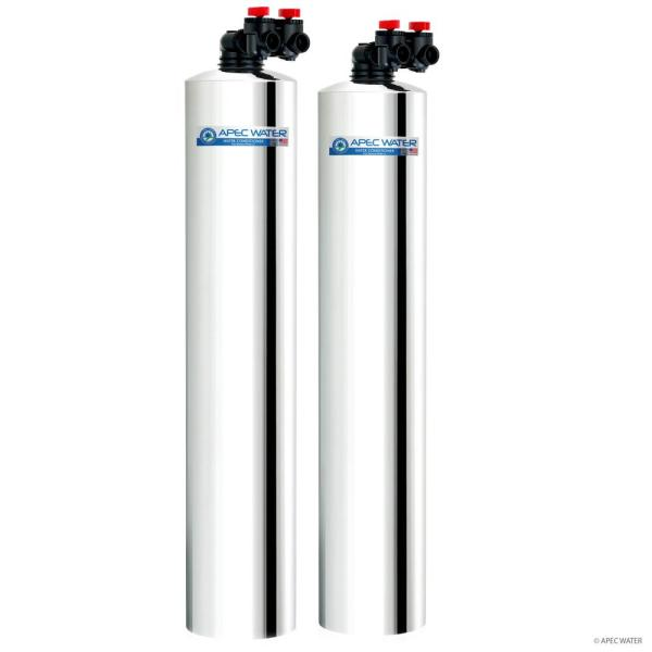 Premium 10 GPM Salt-Free Water Softener and Whole House Water Filtration System