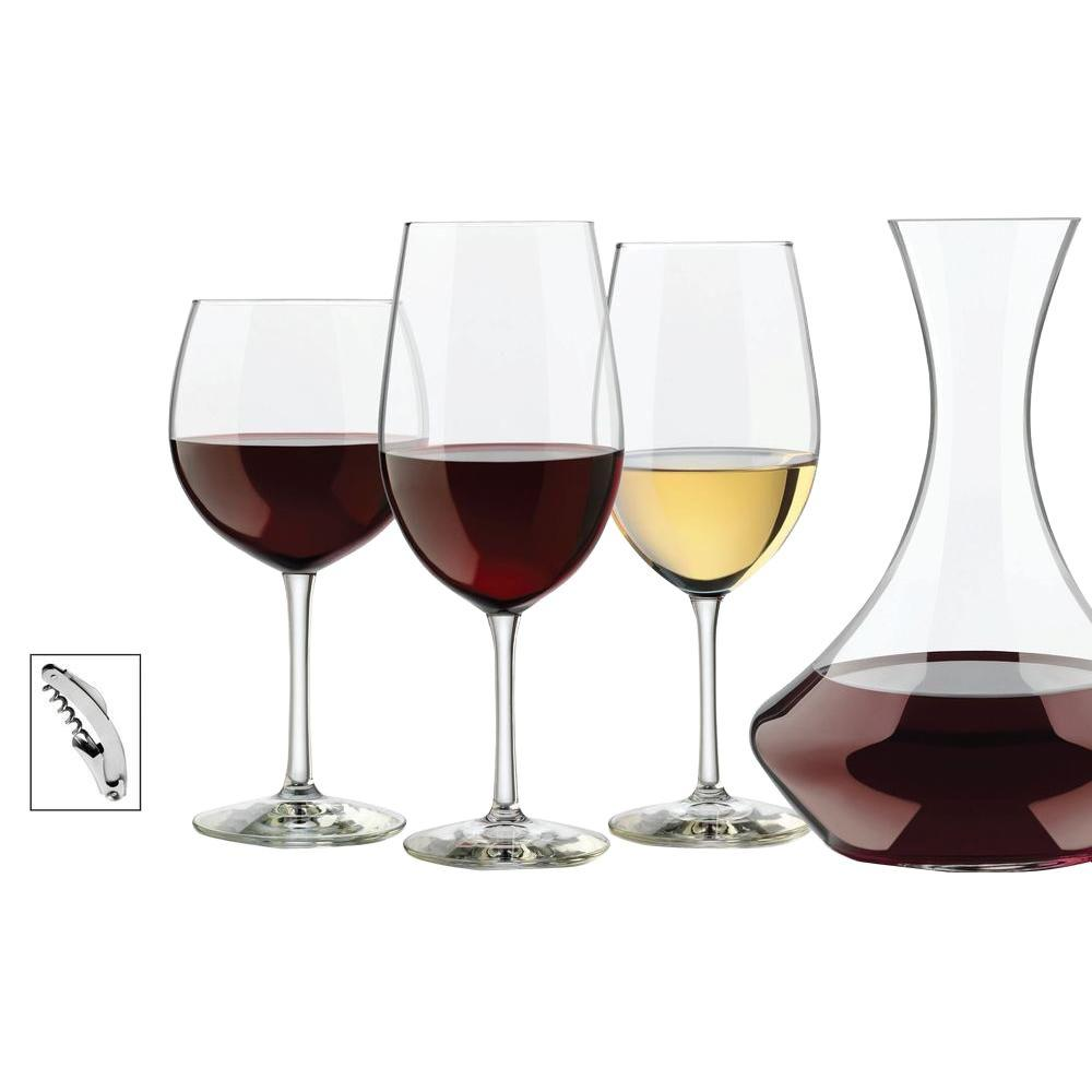 Libbey Vineyard Reserve Wine Glasses and Pitcher in Clear (Set of 14)