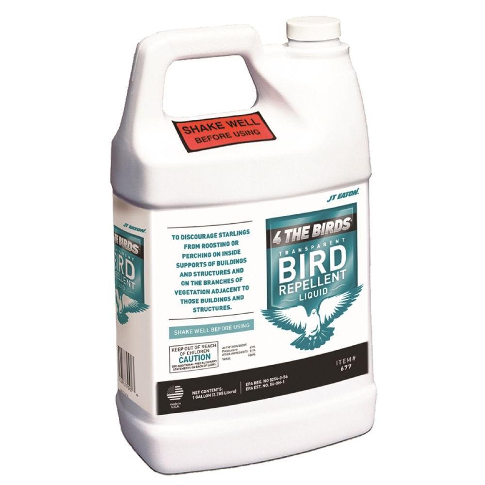 Bird-X 1 gal. 4 the Birds Repellent Liquid Container (4-P...