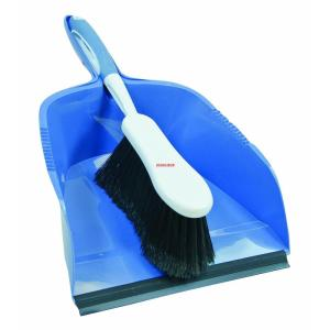 Quickie 10-1/2 inch Dust Pan and Brush Set by Quickie