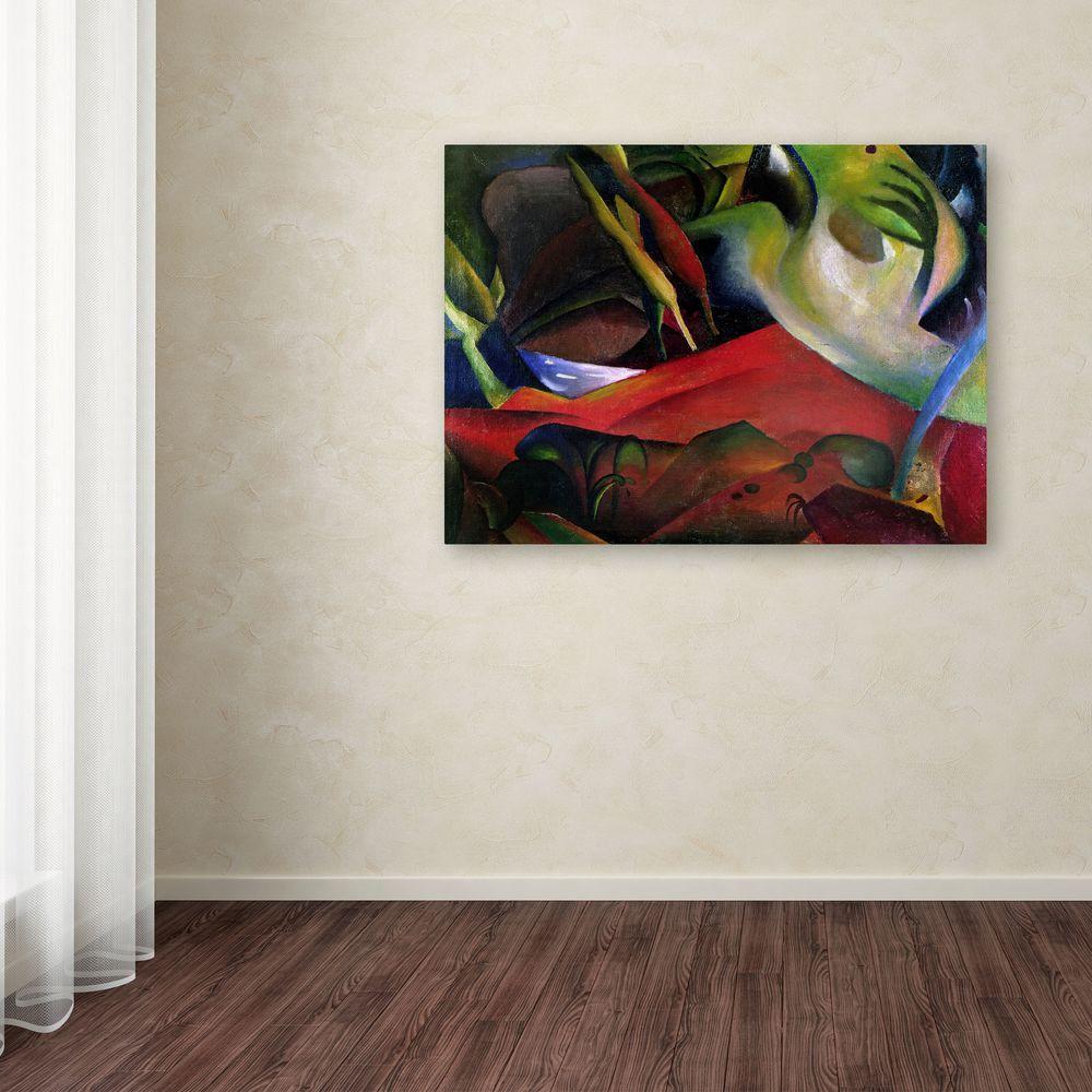 Trademark Fine Art 35 in. x 47 in. The Storm Canvas Art