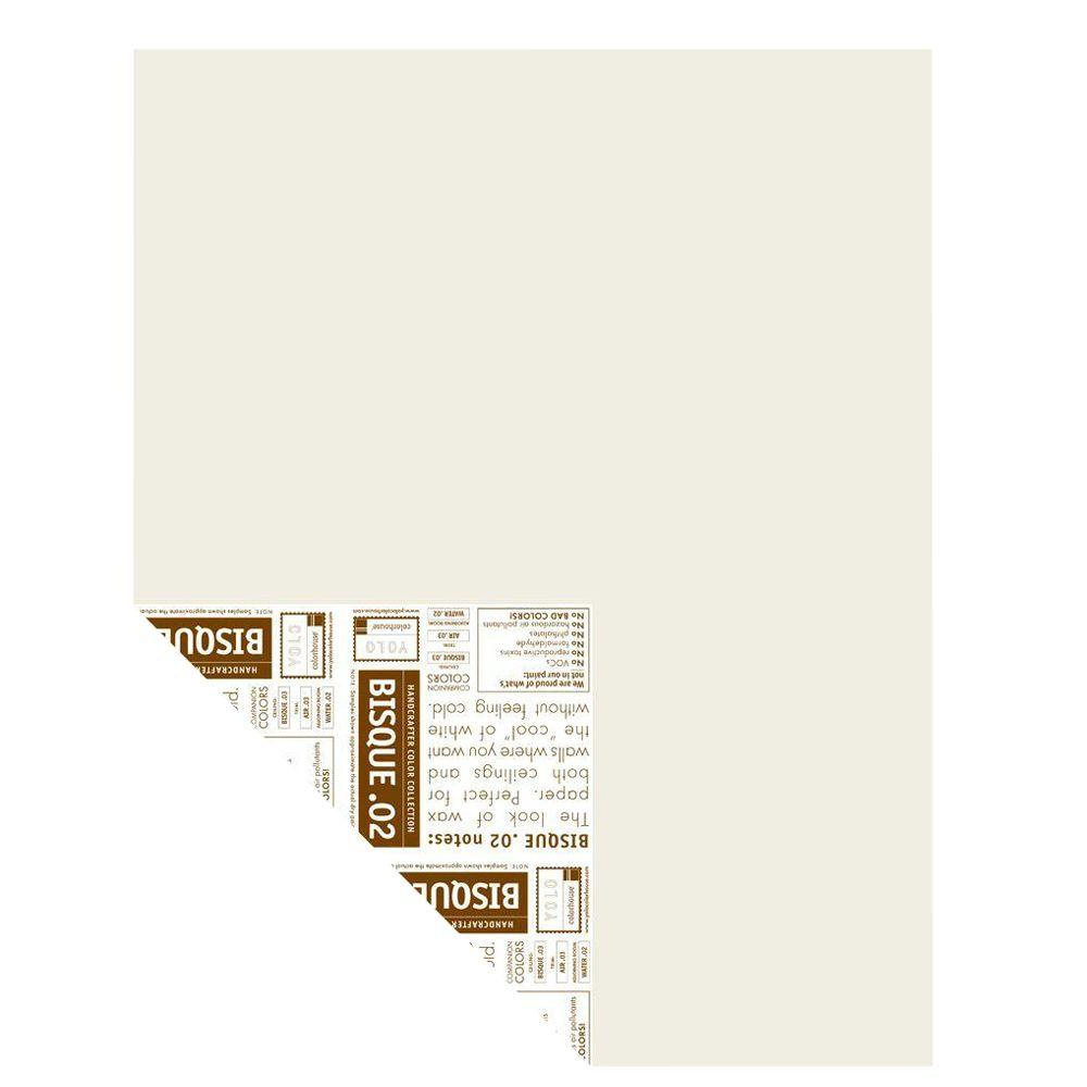 YOLO Colorhouse 12 in. x 16 in. Bisque .02 Pre-Painted Big Chip Sample