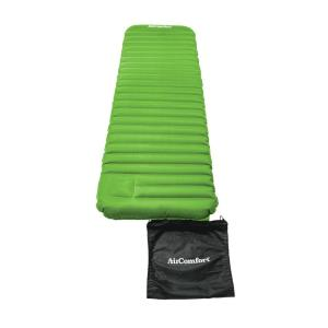 Click here to buy Air Comfort Roll & Go Inflatable Sleeping Pad - Large (Lime) by Air Comfort.