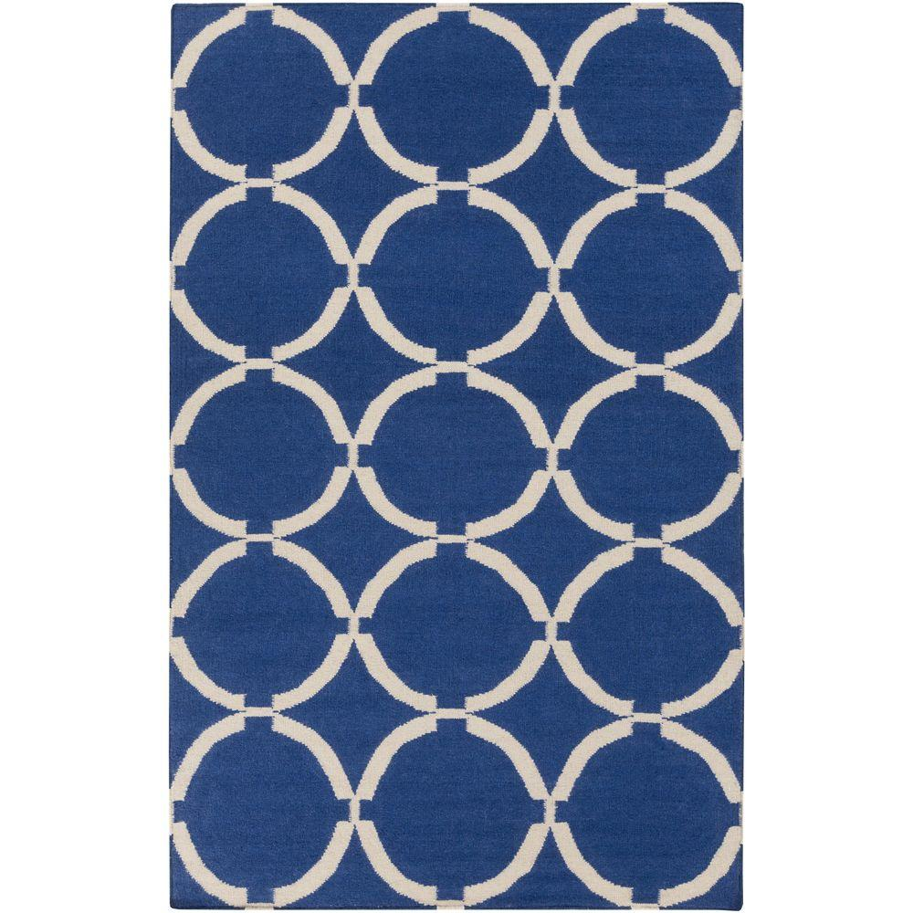 Annelund Navy 5 ft. x 8 ft. Indoor Area Rug