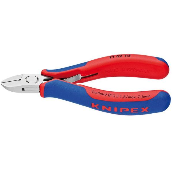 4-1/2 in. Electronics Diagonal Cutters with Comfort Grip