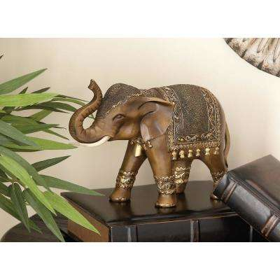 Elephant Polystone Sculpture