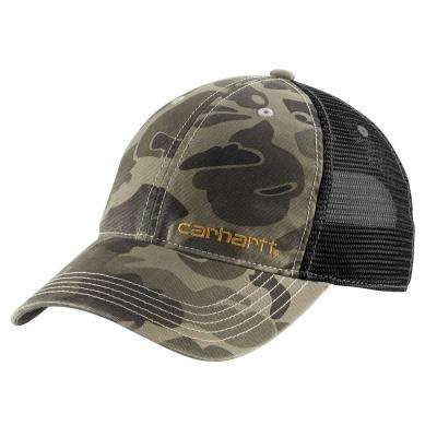 Men's OFA Burnt Olive Camo Cotton Brandt Cap