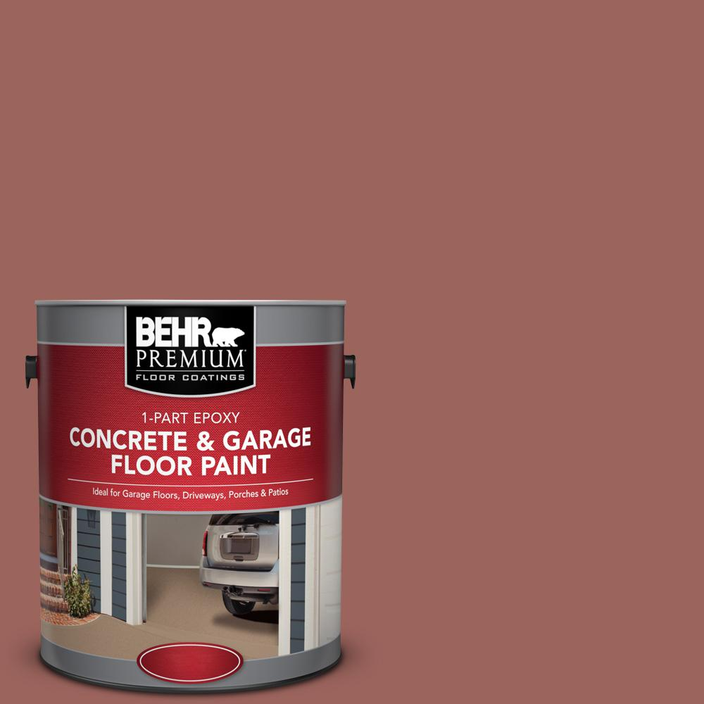1 gal. #ECC-34-3 Terra Cotta Sun 1-Part Epoxy Concrete and Garage