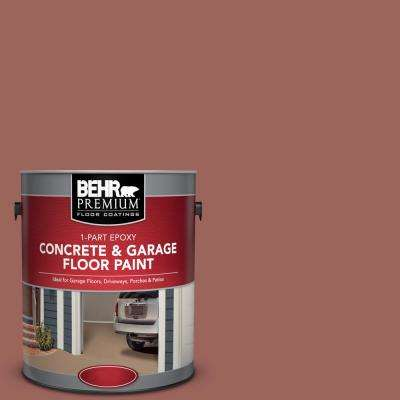 1 gal. #ECC-34-3 Terra Cotta Sun 1-Part Epoxy Concrete and Garage Floor Paint