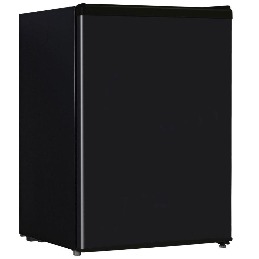 2.4 cu. ft. Mini Refrigerator in Black