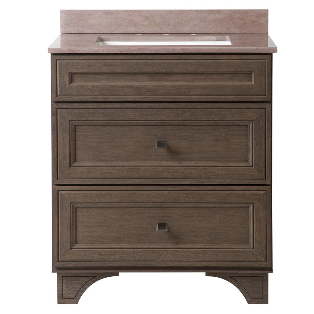 Home decorators collection albright 31 in w x 22 in d for Home decorators vanity top