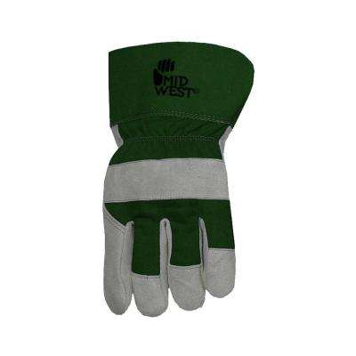 Men's Lined Split Leather Palm Gloves