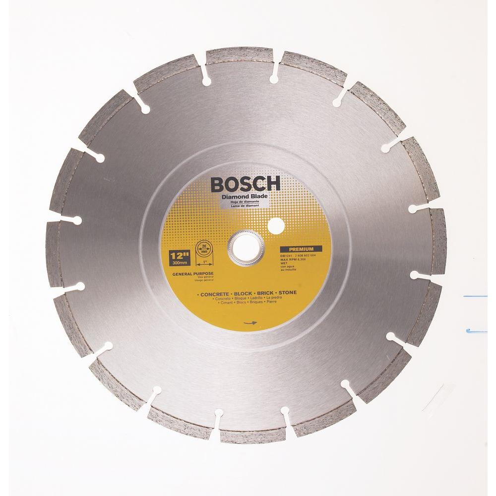 Bosch 12 in general purpose premium circular saw blade for concrete general purpose premium circular saw blade for concrete block brick keyboard keysfo Image collections