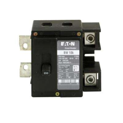 BW 200 Amp Double-Pole 10k Main Circuit Breaker
