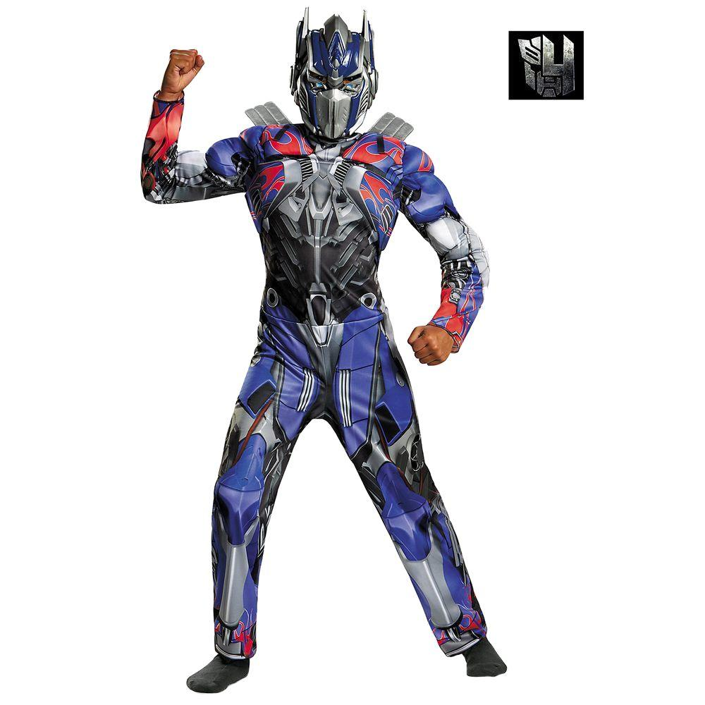 disguise boys transformers 4 optimus prime classic muscle costume