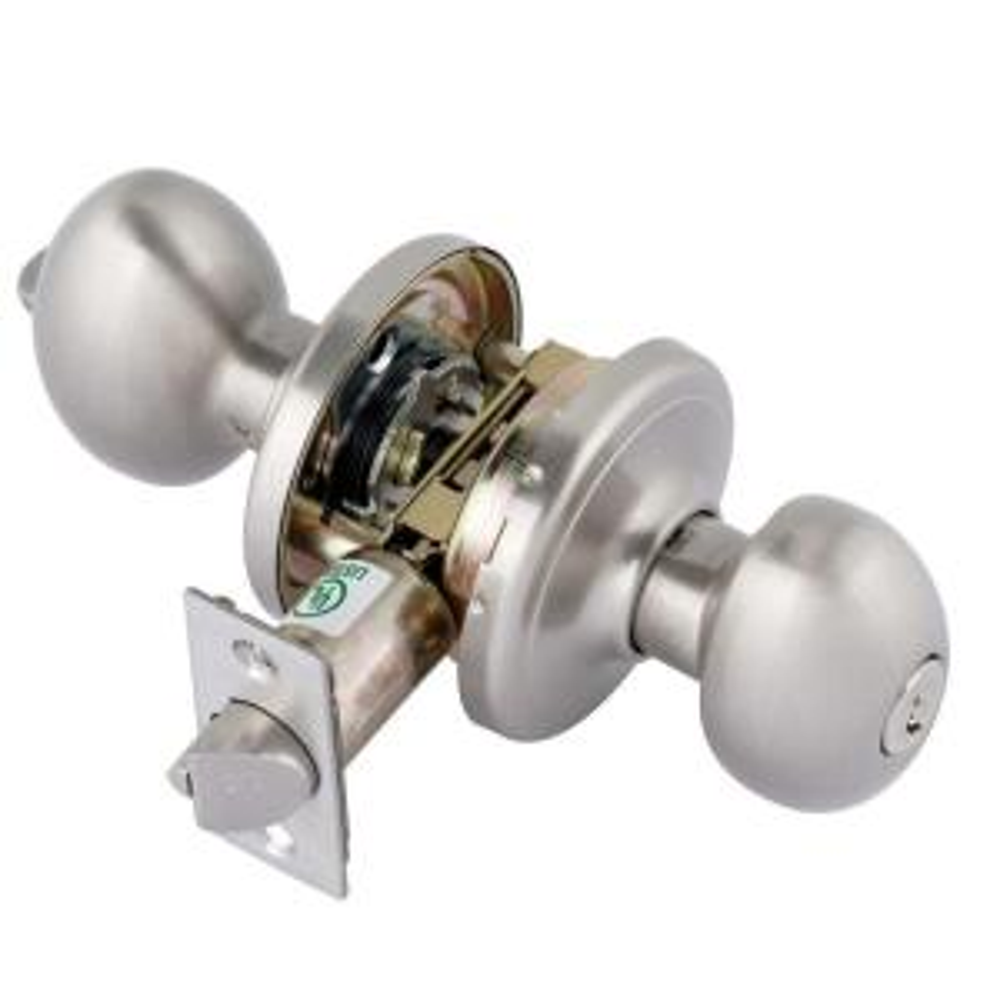 Toledo Fine Locks Platinum Series Santiago Satin Nickel