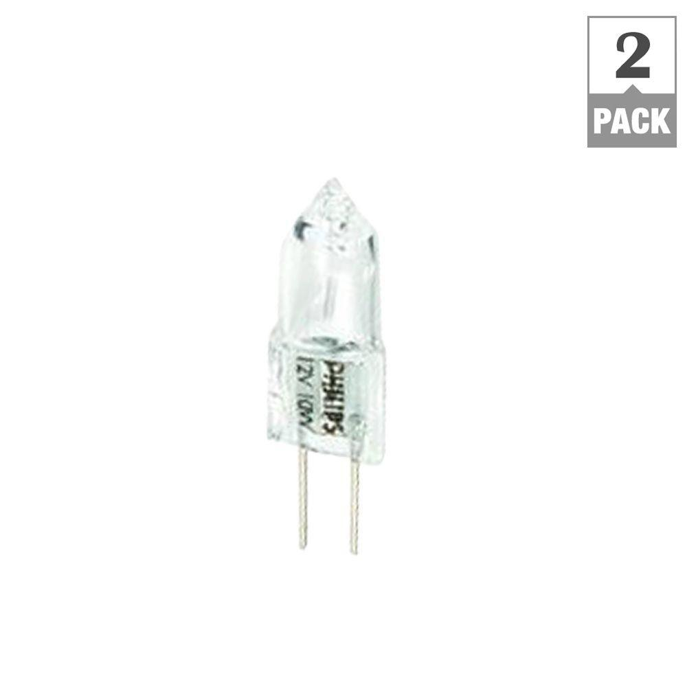 Philips 10 watt t3 halogen 12 volt landscape light bulb 2 pack philips 10 watt t3 halogen 12 volt landscape light bulb 2 pack aloadofball Choice Image