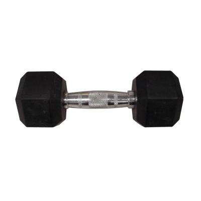 45 lb. Rubber Hex Dumbbell