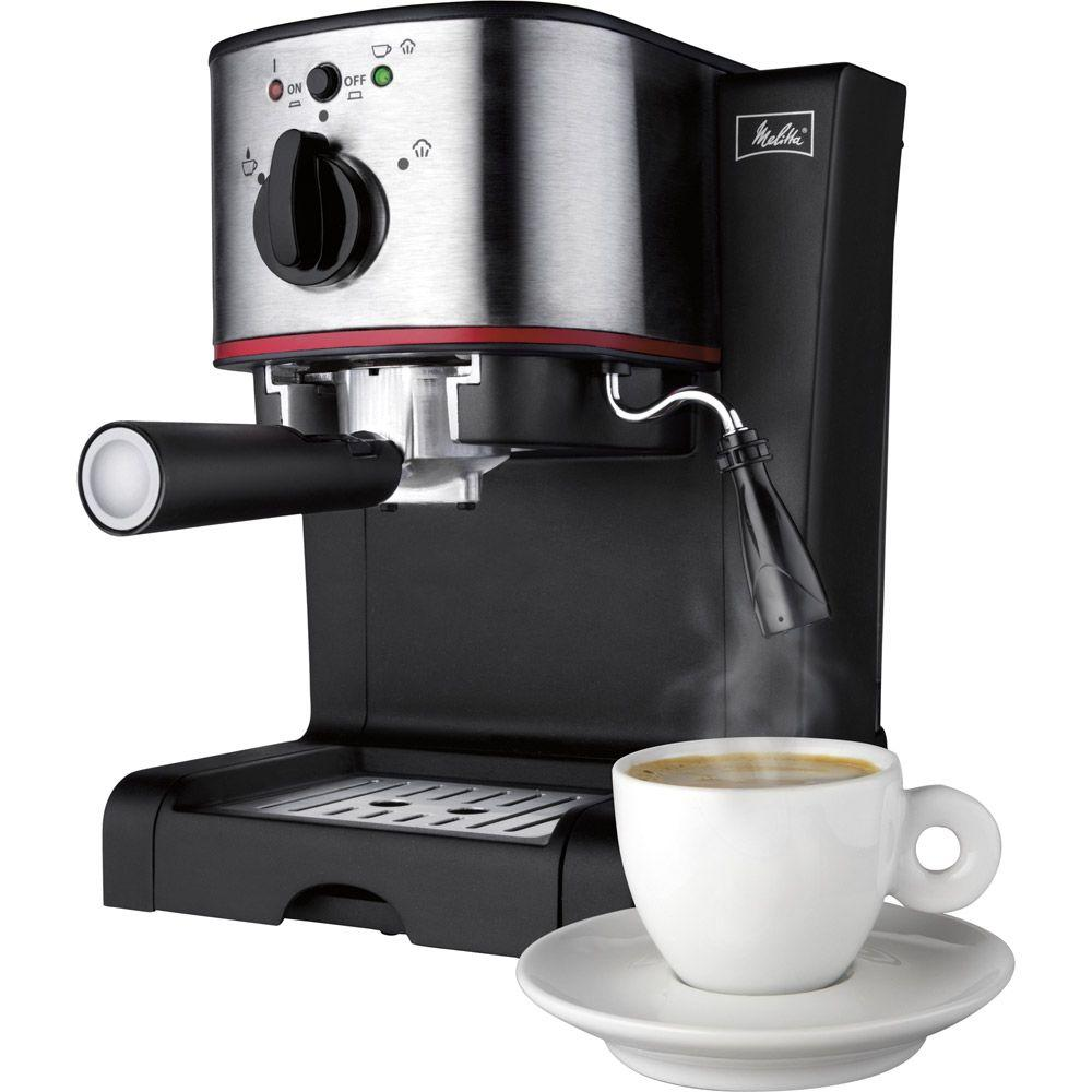 Melitta 15-Bar Italian Pump Espresso Maker-DISCONTINUED