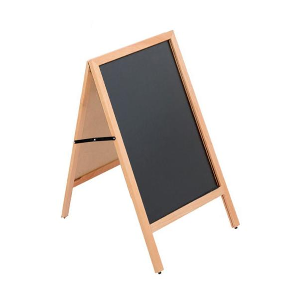 23.5 in. W x 30.75 in. H Wood A Frame Chalkboard Sign
