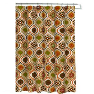 Creative Home Ideas Oxford Weave Textured 70 inch W x 72 inch L Shower Curtain with Metal... by Creative Home Ideas