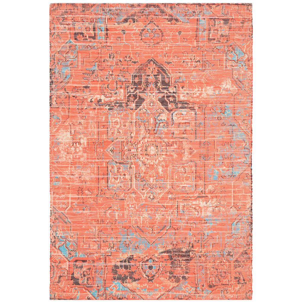 Safavieh Saffron Rust/Blue 8 ft. x 10 ft. Area Rug
