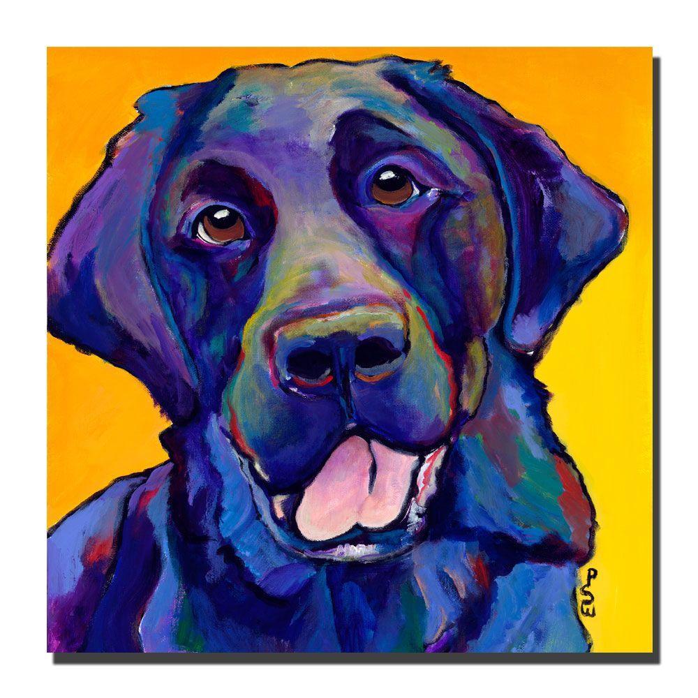 35 in. x 35 in. Buddy Canvas Art