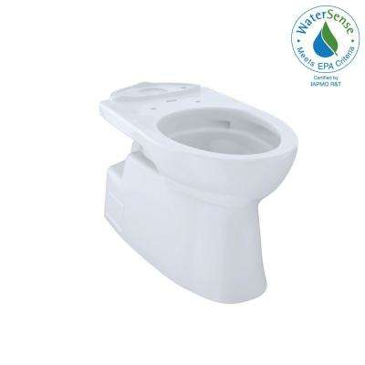 Vespin II Connect+ Elongated Toilet Bowl Only with CeFiONtect in Cotton White