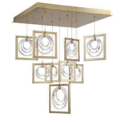 Pewter - Cluster - Chandeliers - Lighting - The Home Depot