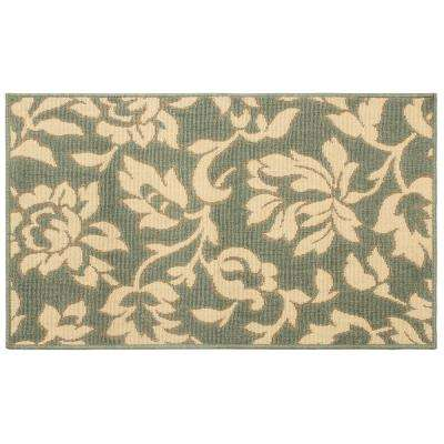 Bennet Ash Green 11 ft. x 8 ft. Indoor/Outdoor Area Rug