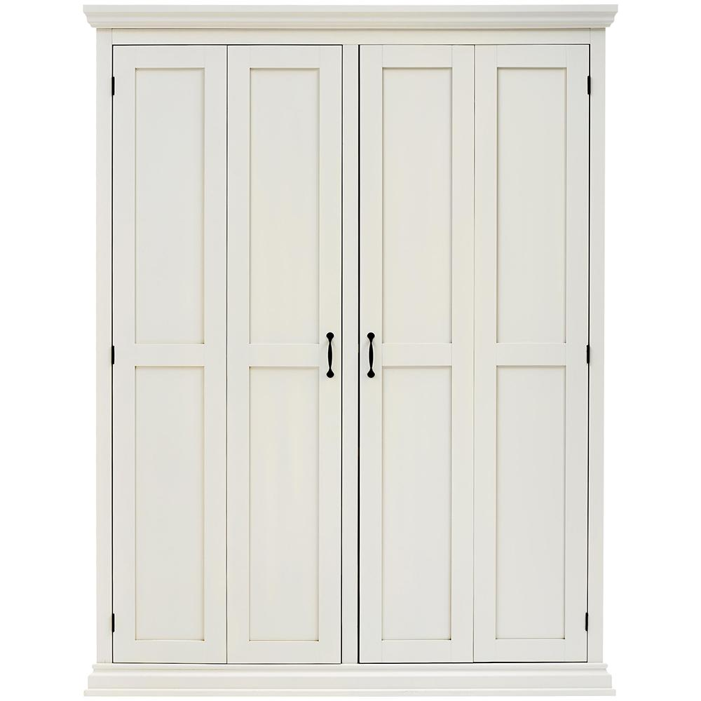 Superbe Home Decorators Collection Sawyer Polar White Hall Tree Storage Locker