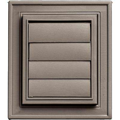 Square Exhaust Siding Vent #008-Clay