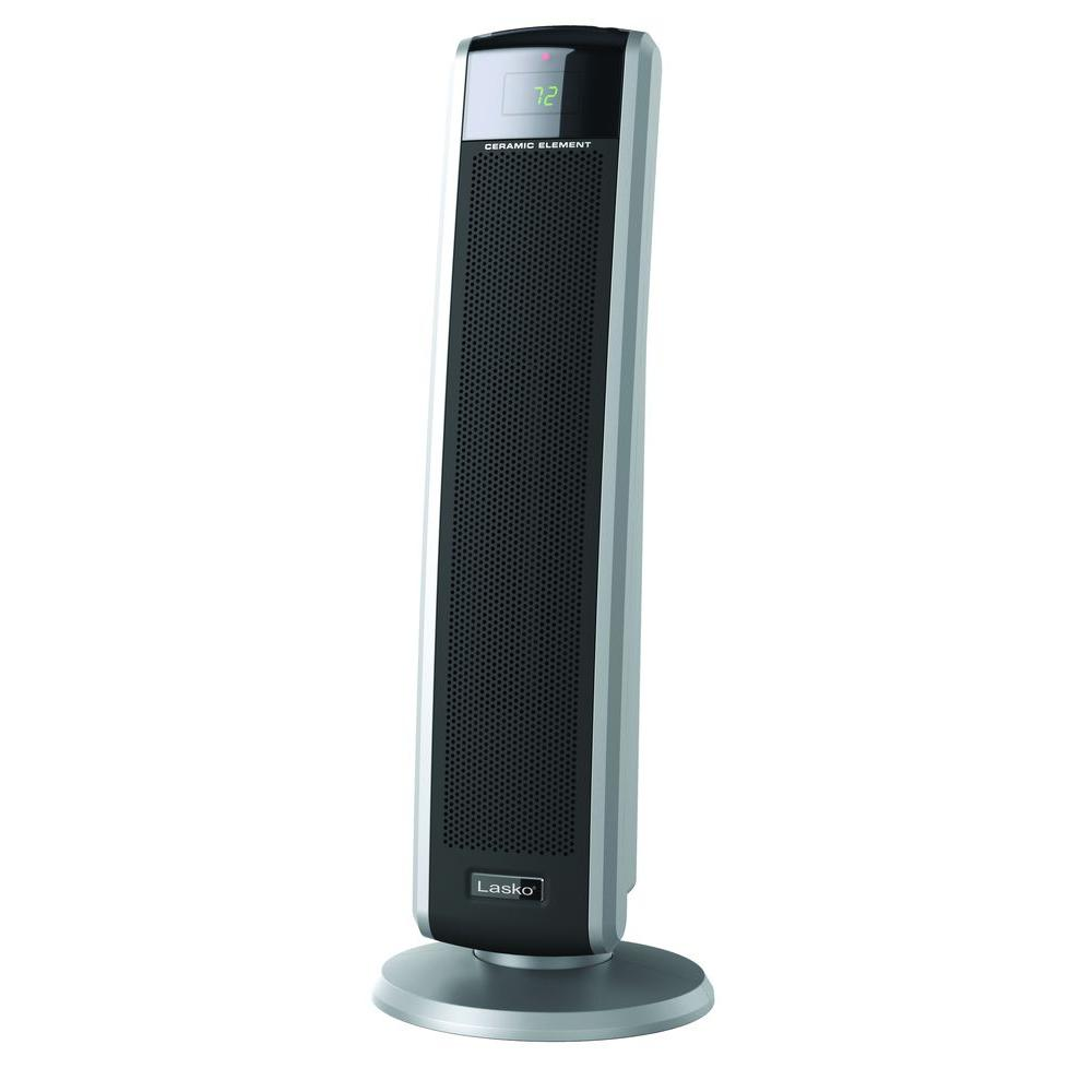 1,500-Watt Digital Ceramic Tower Heater with Electronic Remote Control