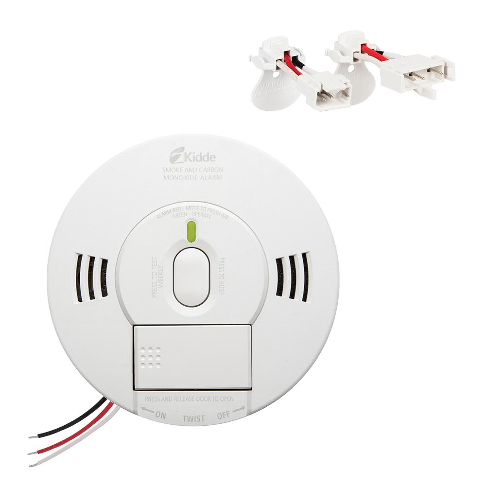 Kidde Hardwire Smoke And Carbon Monoxide Combination Detector With