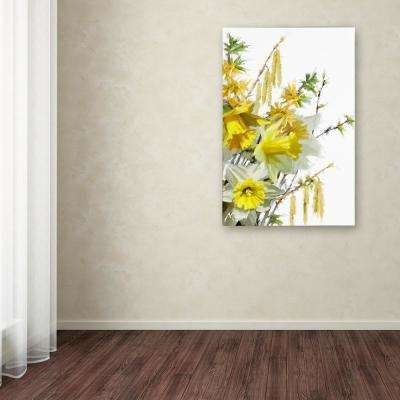 "47 in. x 30 in. ""Catkins"" by The Macneil Studio Printed Canvas Wall Art"