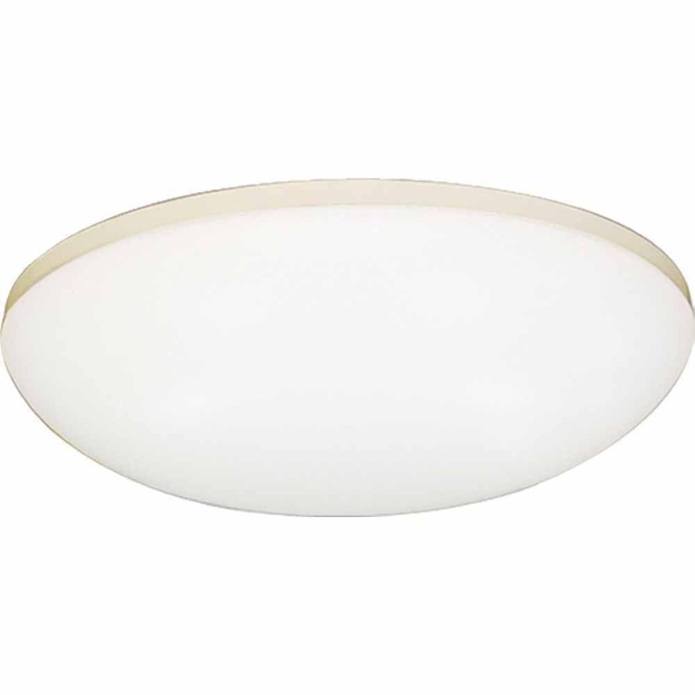 Filament Design Lenor 1-Light White Fluorescent Ceiling