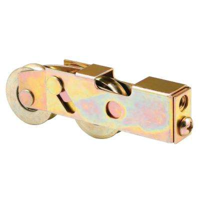 1-1/4 in. Steel Tandem Roller Assembly with Ball Bearing and Plain Back Housing Keller