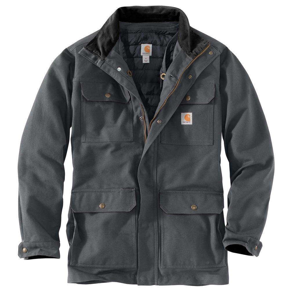 Carhartt Mens Extra-Large Shadow Cotton Field Coat Deals