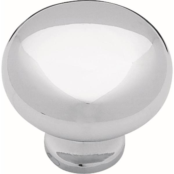 Logan 1-1/4 in. (32mm) Chrome Round Cabinet Knob