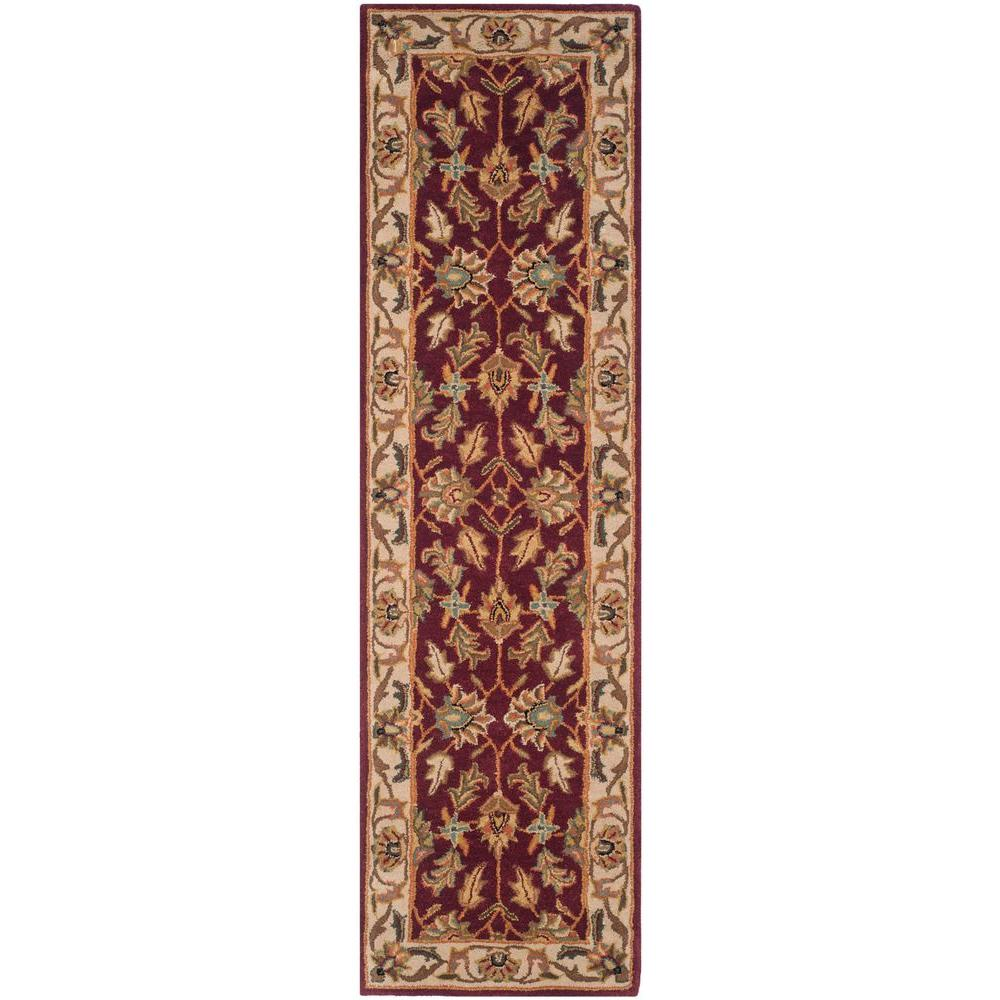 Safavieh Heritage Red/Ivory 2 ft. 3 in. x 10 ft. Runner