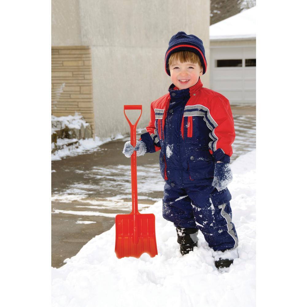 Emsco Bigfoot Toddler Snow Shovel-Orange 1770-1 Garden Tools /& Equipment NEW