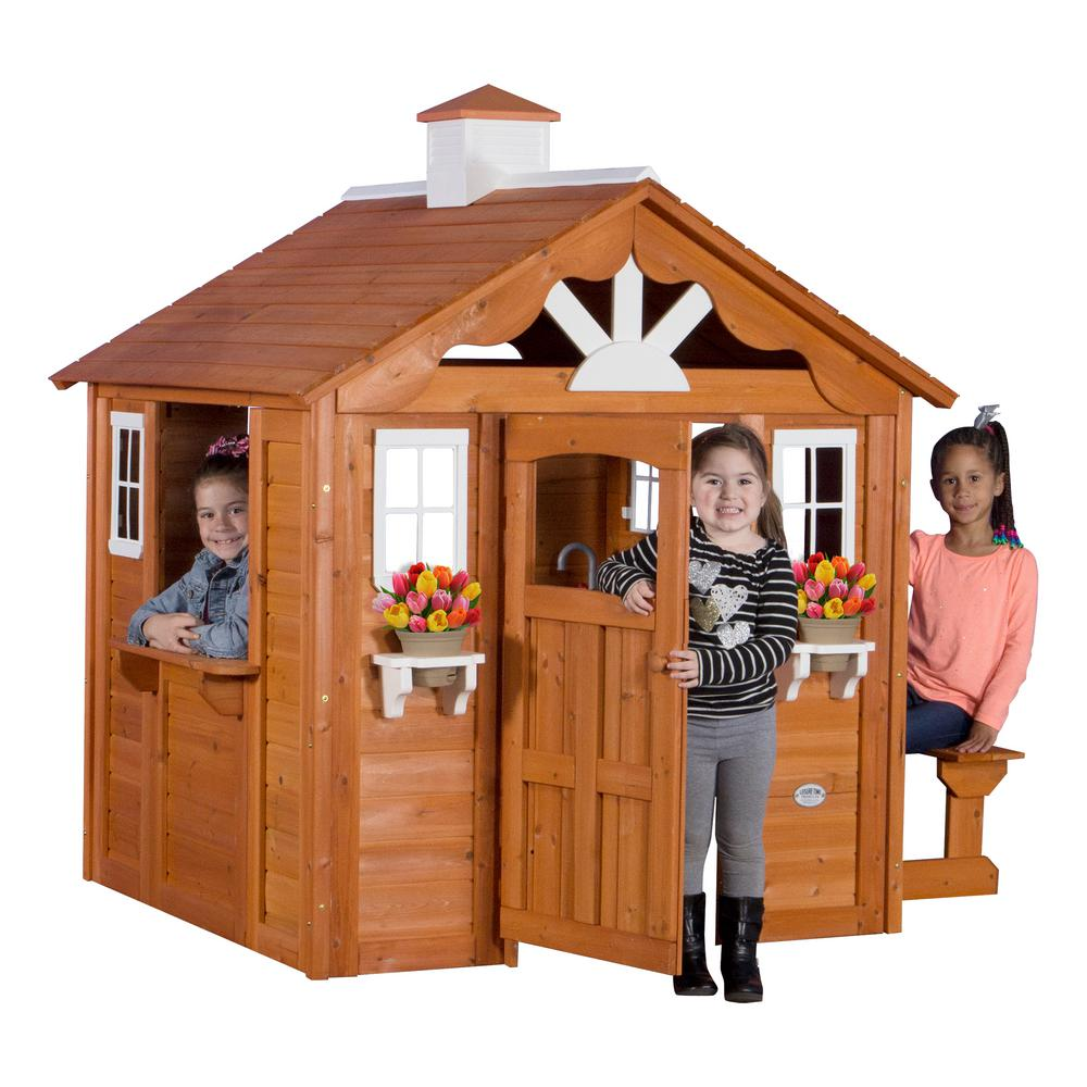 Kids Playhouses Playground Sets Equipment The Home Depot